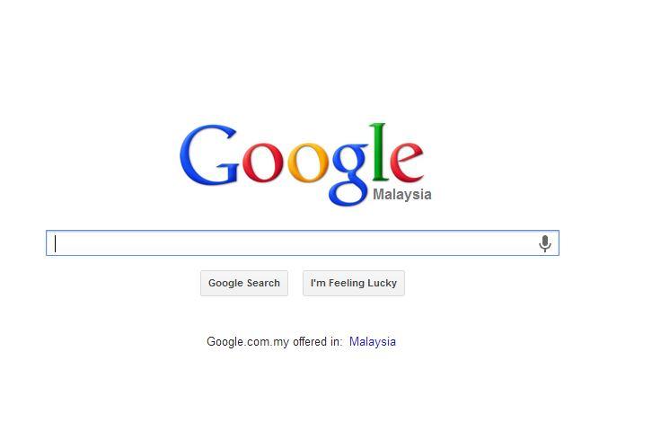 Rank di Google Malaysia
