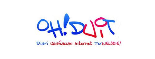 Logo asal blog Ohduit.com pada tahun 2009