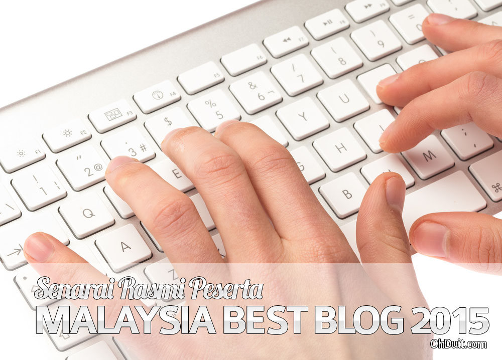 Senarai Peserta Contest SEO Malaysia Best Blog 2015