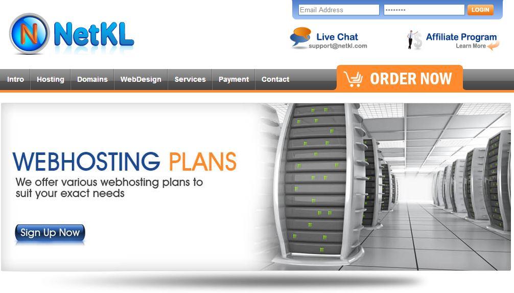 Best Malaysia Web Hosting - NetKL