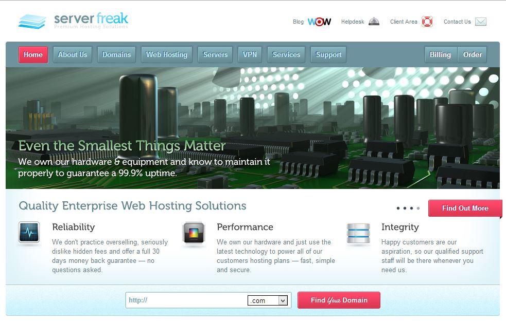 Best Malaysia Web Hosting - ServerFreak