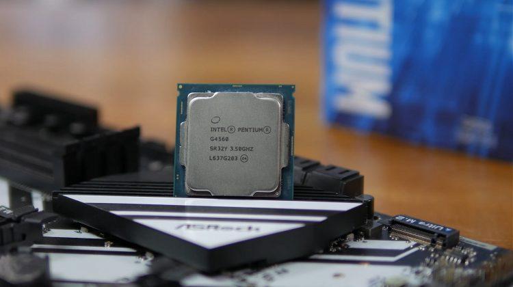 Intel-G4560 kaby lake