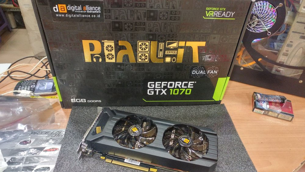 PALIT GeForce GTX1070 Dual Fan