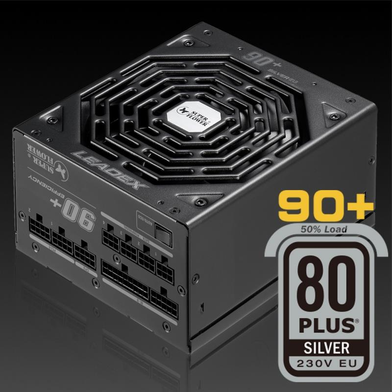 Super Flower Leadex 80+ Silver 650W