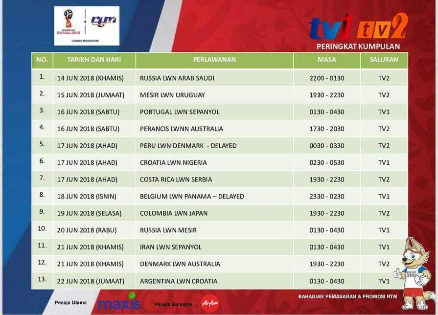 RTM Live World Cup 2018