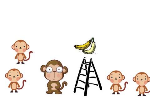 Pisang dan Monyet